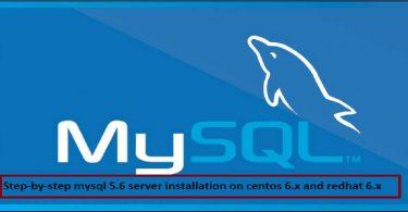 mysql-5.6-installation