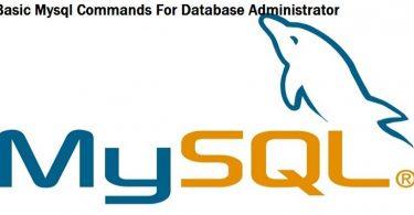 mysql-basic-command