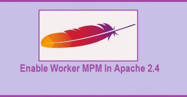 enable-worker-mpm