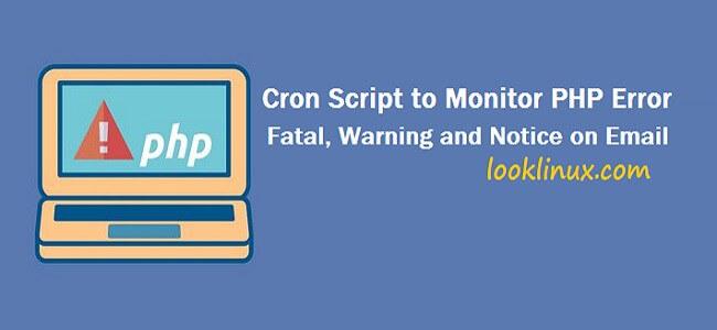 monitor-php-error