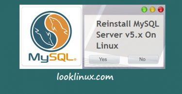 Reinstall-mysql-server