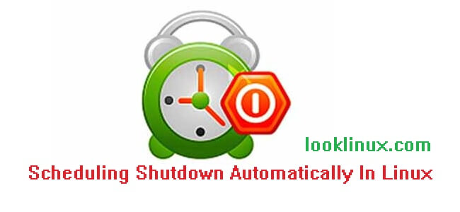 Scheduling Shutdown Automatically In Linux
