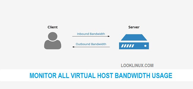 How to monitor all  Virtual Host Bandwidth usage in Apache using access log