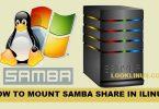mount-samba-share