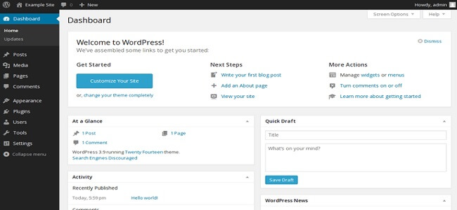 wordpress-admin_interface