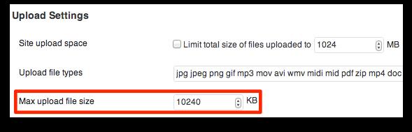 Max-Upload-file-size