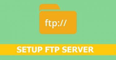 Setup-FTP-Server-on-Centos