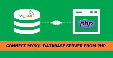connect-mysql-database-server-from-php
