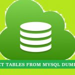 Extract-Tables-From-MySQL-Dump File