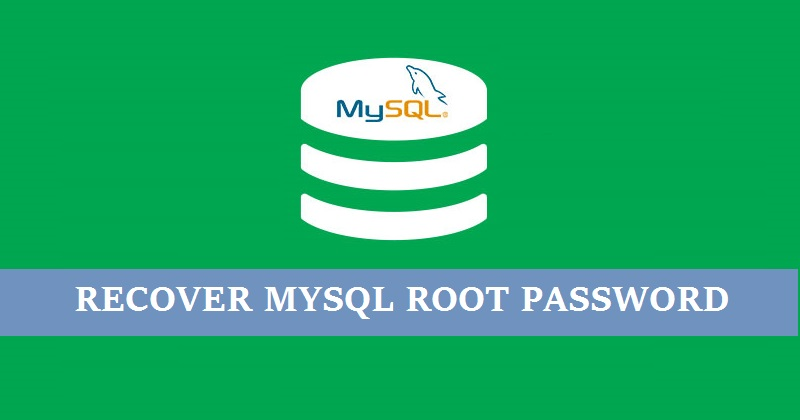 Recover-mysql-root-user-password