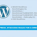 WordPress-htaccess-rules