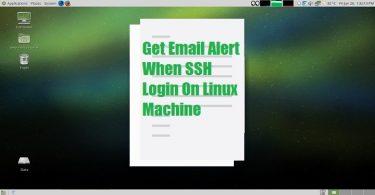 Linux-SSH-login