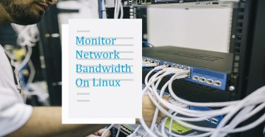 Network-bandwidth-monitoring