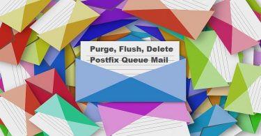 Purge-Flush-Delete-Postfix-Queue-Mail