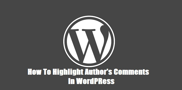 Higlight-Author-comment-in-WordPress