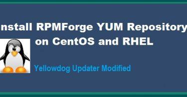 RPMForge-repository
