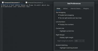 Xed-Editor-Installation