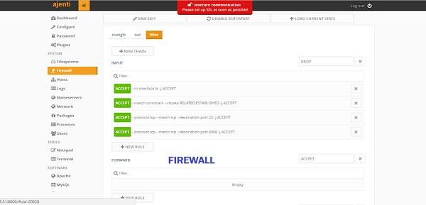 ajanti-firewall