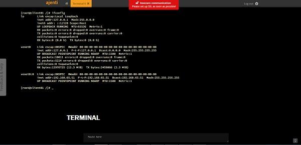 ajanti-terminal