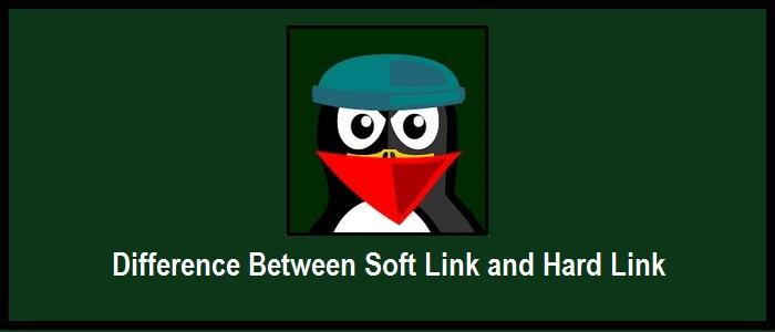 difference-softlink-hardlink