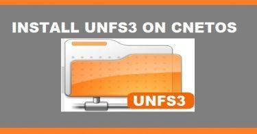 unfs3-installation