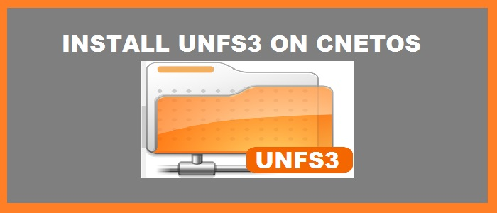 How to Install unfs3 on CentOS 6 x - LookLinux