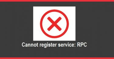 Cannot-register-service