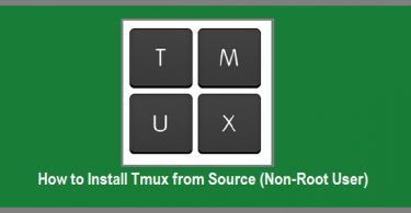 install-tmux-from-source
