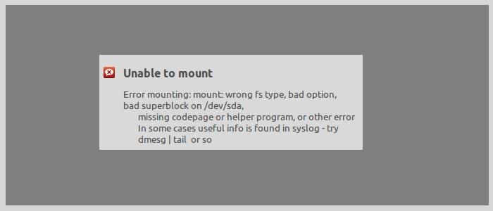 mount-error