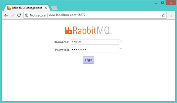 rabbitmq-login