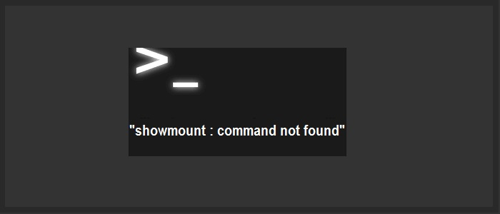 showmount-command-not-found