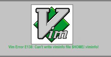 vim-info