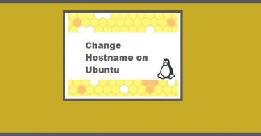 Change Hostname on Ubuntu