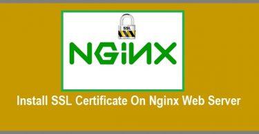 Install-SSL-Certificate-On-Nginx-Web-Server